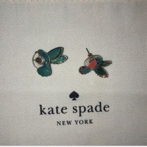 kate spade Jewelry - ✨ Kate Spade Hummingbird Studs ✨